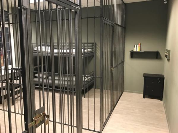 Gefängniszellen des Spiels Prison