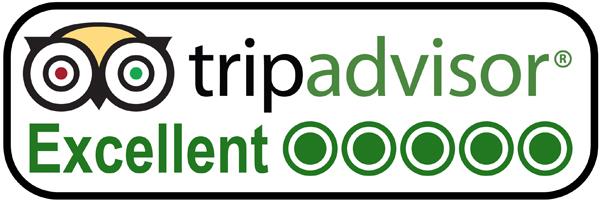 Tripadvisor Excellent Auszeichnung